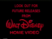 Look Out for Future Releases from Walt Disney Home Video (1994)