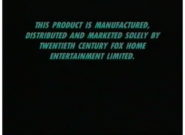 20th Century Fox Home Entertainment 1999-2005 Warning Screen (S2)