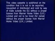 Warner Home Video Warning Screen (1998) (S2)