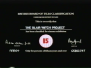 -15- THE BLAIR WITCH PROJECT