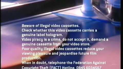 Paramount Home Entertainment (2003-2005) Warning Screen & Piracy Warning