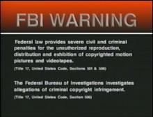 PolyGram USA Home Entertainment Warning 2