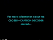 ECI 2003 Closed Captions Screens (S2)