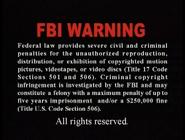 2001 Tai Seng Video Marketing Warning Screen in English