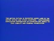 Ushe warning screen