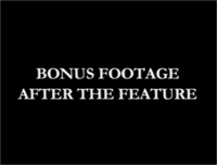 Bonus Footage After the Feature Disney 2001 Bumper