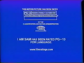 Opening To I Am Sam 2002 VHS (Version @1).00.05.33