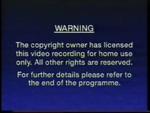 Third CIC Video warning screen (variant)