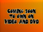 Coming Soon To Own On Video And DVD (Halloween 2001 Variant)