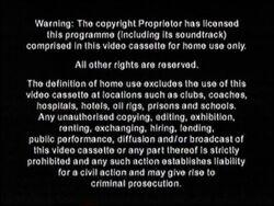 Just Entertainment Ltd. Warning Screen (2001)