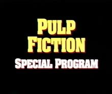 Special program bumper