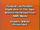 AIMS Multimedia Warning Screen