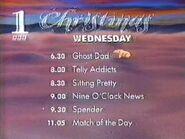 Christmas wednesday bbc1 1993a