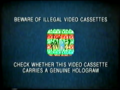 Pathe Illegal Video Cassettes (2000) Hologram