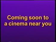 Coming Soon to a cinema Near You Disney 1996 ID