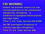 Goodtimes Warning Screen 1990's