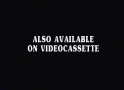 Artisan Entertainment Also Available on Videocassette