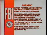 1984 FBI Warning (prototype)