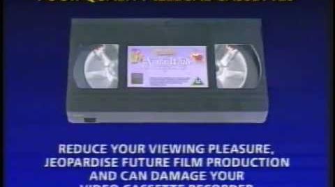 """Snow White and the Seven Dwarfs"" (Disney) - UK VHS Trailer Reel (1994)"