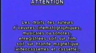 Warner Home Video 1983 Warning (French Canadian)