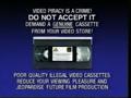 Fox Video Anti-Piracy Warning (1993-1996)