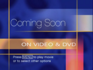 Coming Soon on Video & DVD (1999 press menu variant)