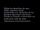 Continental Video Warning Screen