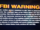 Lightyear Entertainment Warning Screen