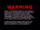 IFC Films Award Consideration Warning Screen