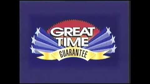 Stay Tuned for Details of Great Time Guarantee Bumper