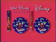 Walt Disney Home Video Latin American Piracy Warning (1992) Holograms