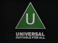 BBFC U Card (1985)