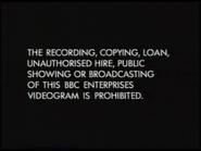BBC Video Warning Screen (1991)