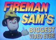 Fireman Sam's Biggest Video Ever