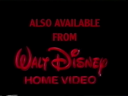 Also Available from Walt Disney Home Video (1994)
