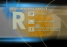 HBO rated R 2000