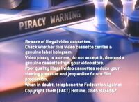 Paramount Home Entertainment Piracy Warning (2003)