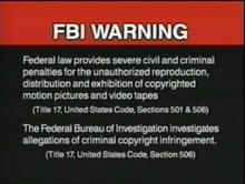 PolyGram USA Home Entertainment Warning 4