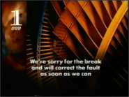 BBC1 1990's BREAKDOWN CARD