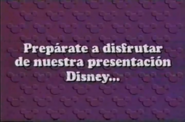 Walt Disney Home Video Venezuelan Feature Presentation ID (1991)