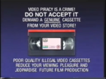 Columbia TriStar Home Video Anti-Piracy Warning (Early Variant 1994)