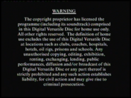 Columbia TriStar Home Video Warning (1997)