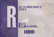 HBO rated R 1994