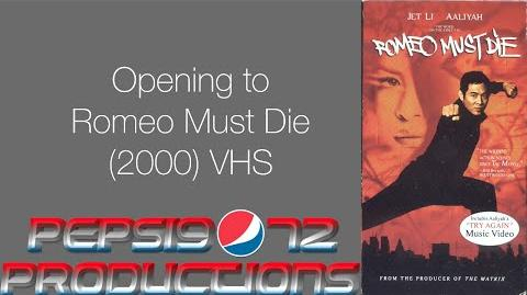 Opening to Romeo Must Die (2000) VHS