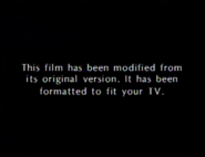 MGM UA Home Video modified screen