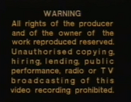Polygram video warning screen 01