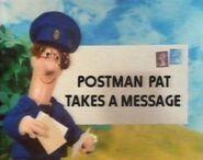Postman Pat Takes a Message
