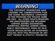PolyGram Video 1980s Warning