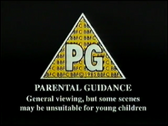 BBFC PG Card (1991) 2