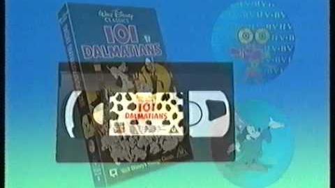 Disney Videos (UK) - Piracy Warning - VHS UK 1996